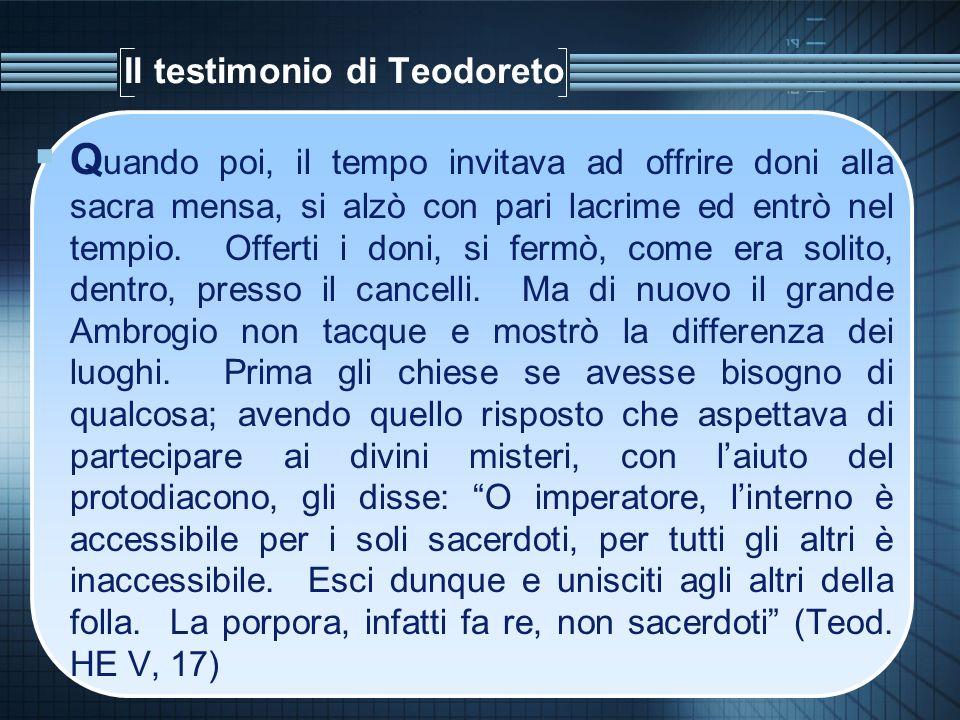 Il testimonio di Teodoreto