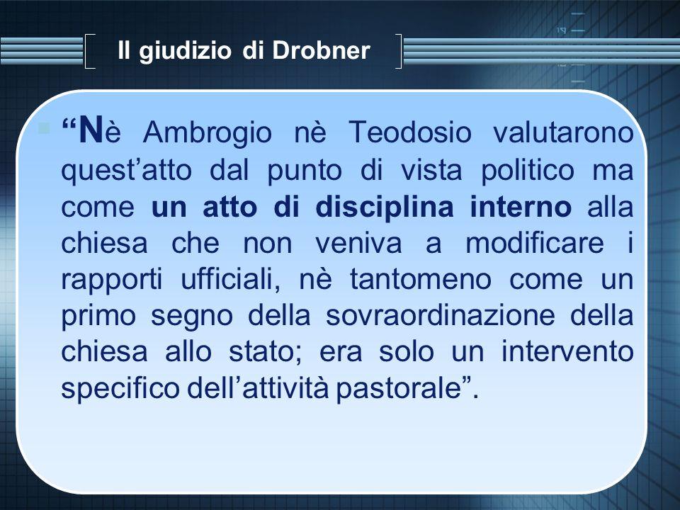 Il giudizio di Drobner