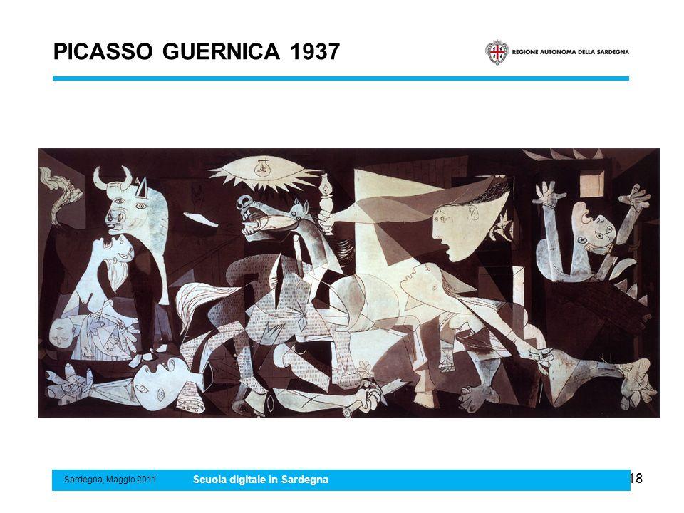 PICASSO GUERNICA 1937 Scuola digitale in Sardegna