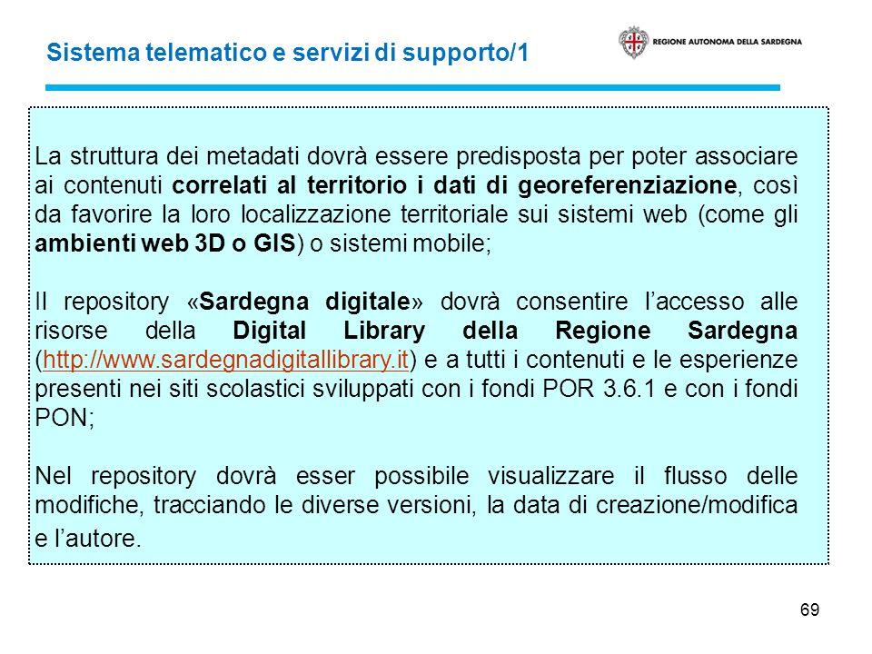 Sistema telematico e servizi di supporto/1