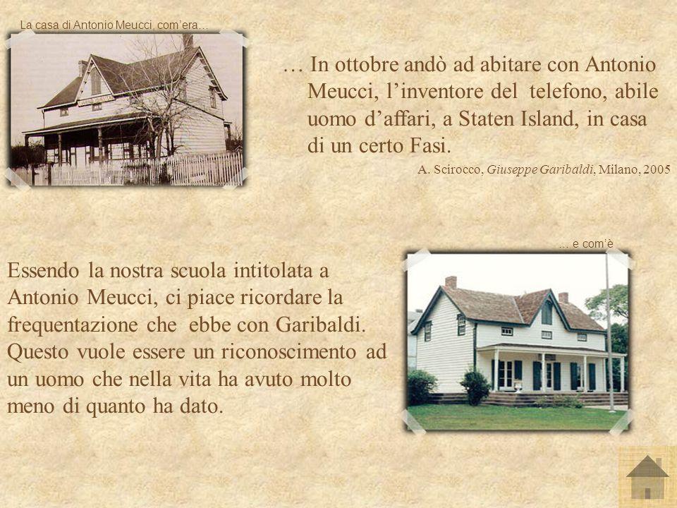 La casa di Antonio Meucci, com'era…