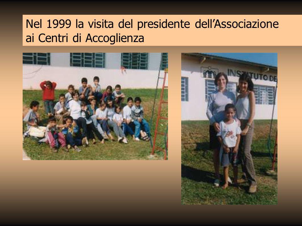 Nel 1999 la visita del presidente dell'Associazione