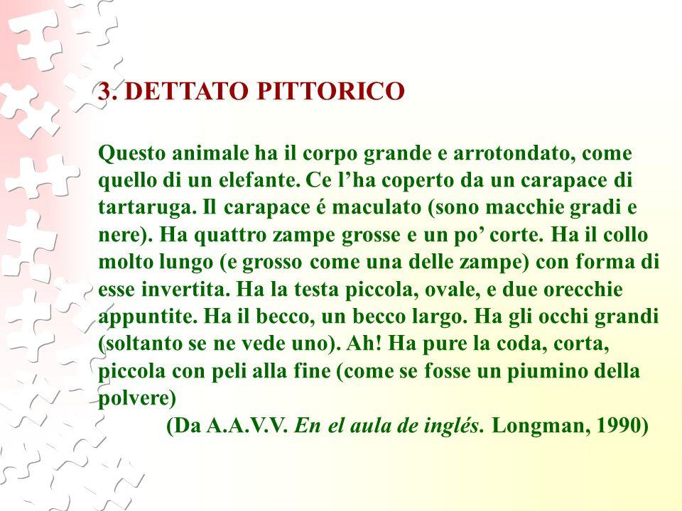 3. DETTATO PITTORICO