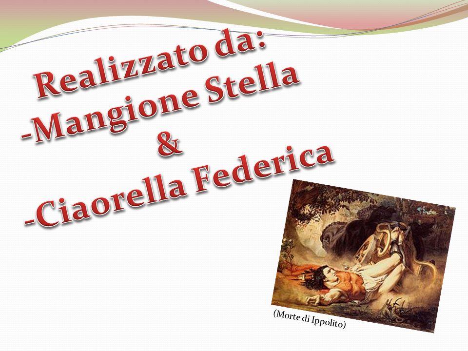 Realizzato da: -Mangione Stella & -Ciaorella Federica