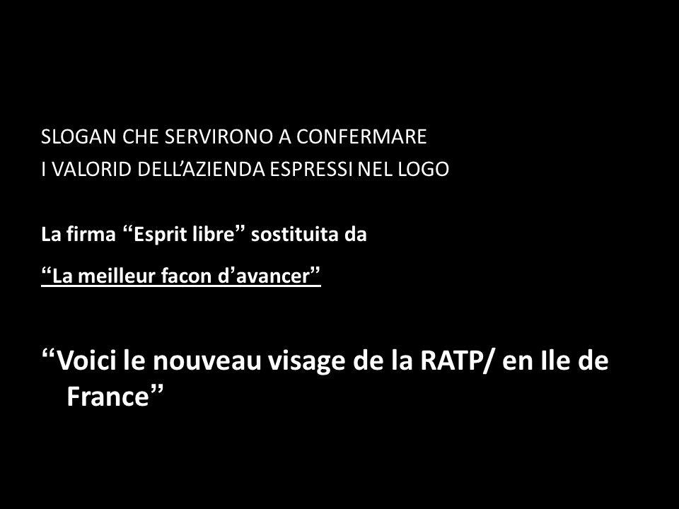 Voici le nouveau visage de la RATP/ en Ile de France