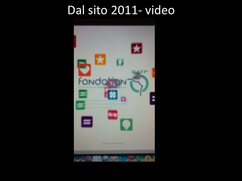 Dal sito 2011- video