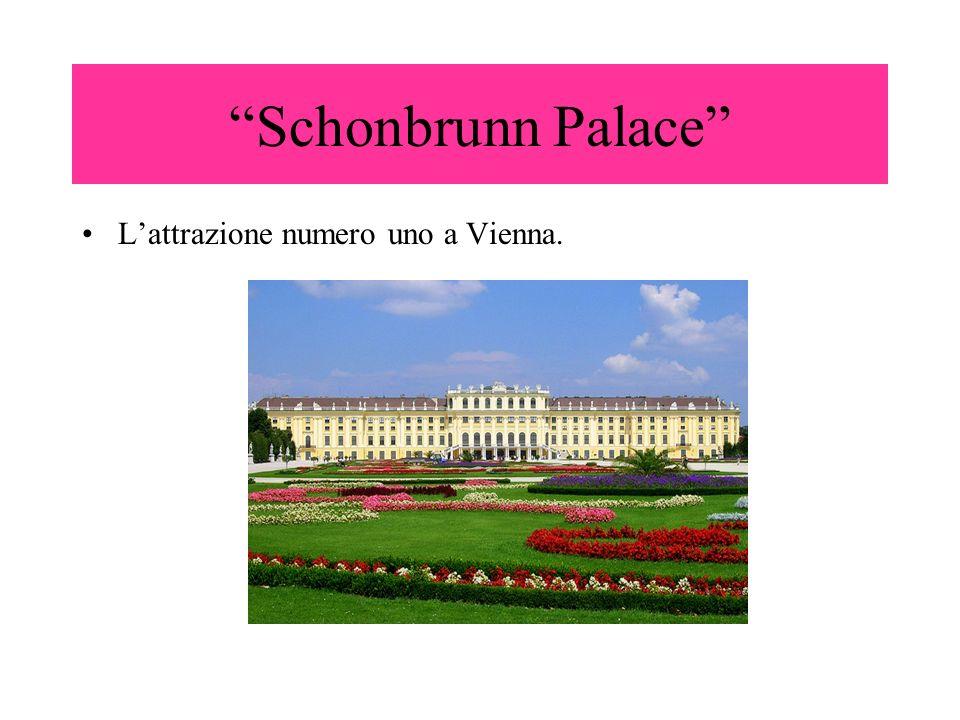 Schonbrunn Palace L'attrazione numero uno a Vienna.