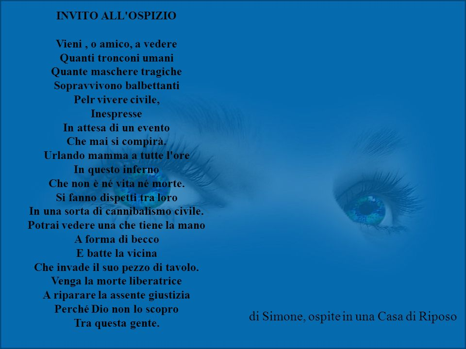 Poesia triste iii ppt video online scaricare - Perche si forma la muffa in casa ...