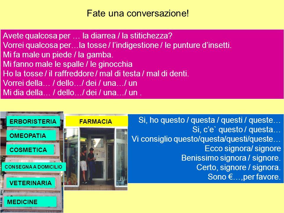 Fate una conversazione!