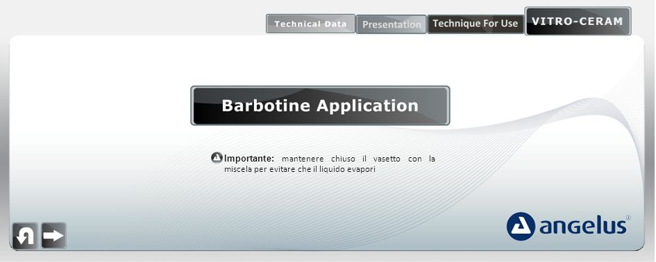 barbotine application