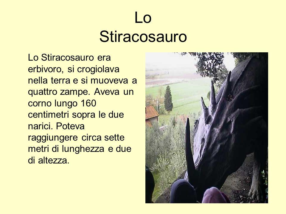Lo Stiracosauro