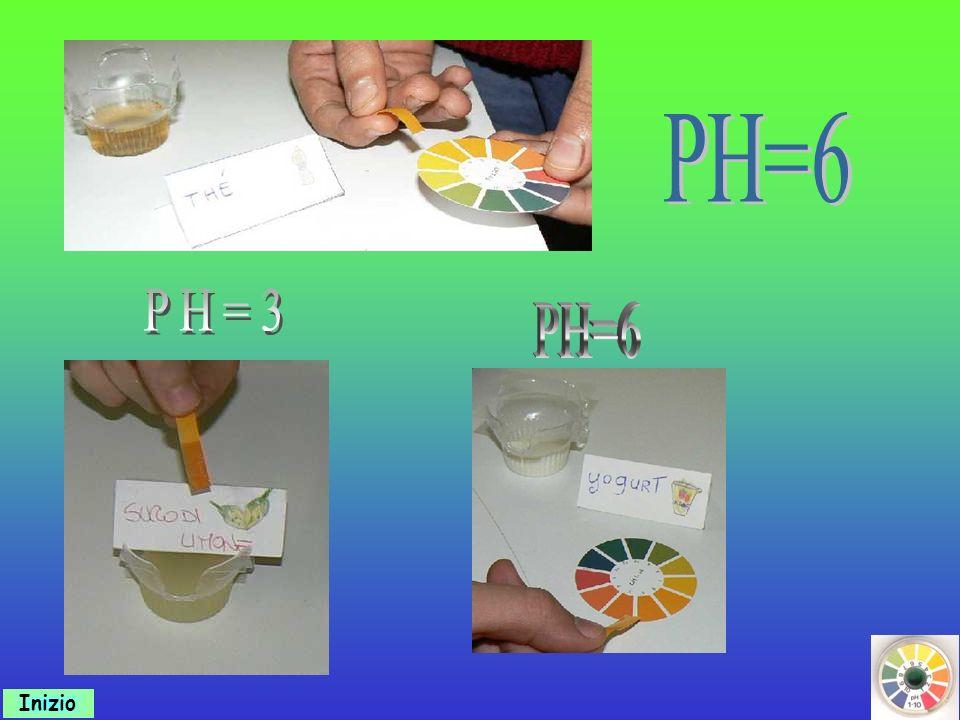PH=6 PH=3 PH=6 Inizio