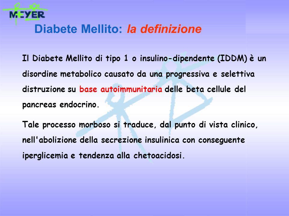 Diabete Mellito: la definizione