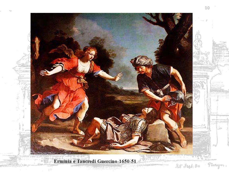 Erminia e Tancredi Guercino-1650-51