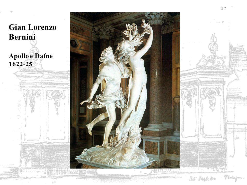 Gian Lorenzo Bernini Apollo e Dafne 1622-25