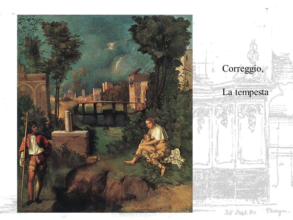 Correggio, La tempesta