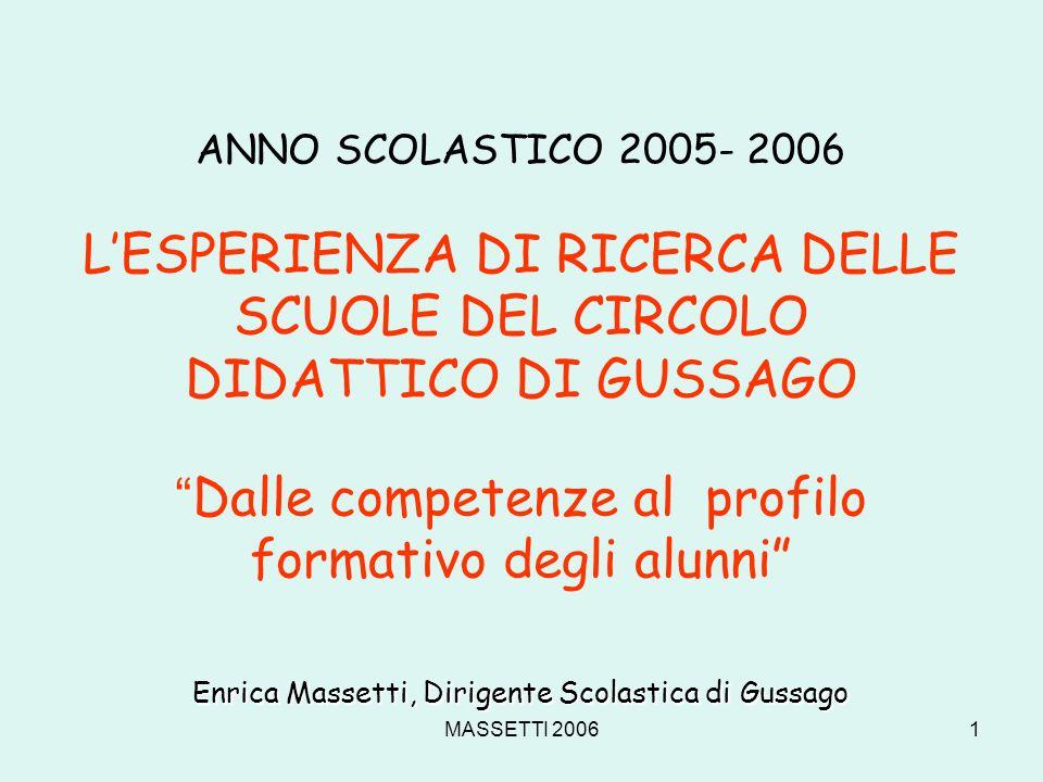 Enrica Massetti, Dirigente Scolastica di Gussago
