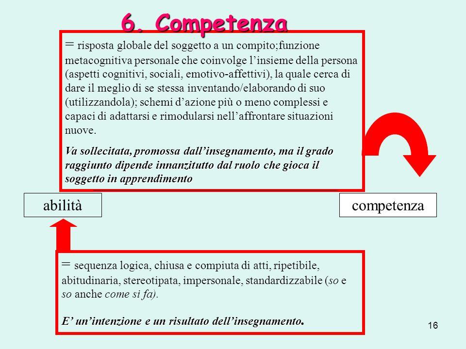 6. Competenza