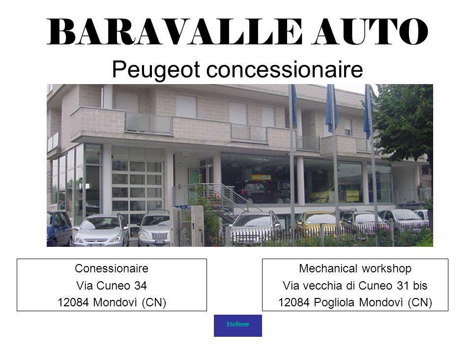 BARAVALLE AUTO Peugeot concessionaire