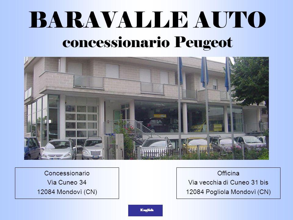 BARAVALLE AUTO concessionario Peugeot