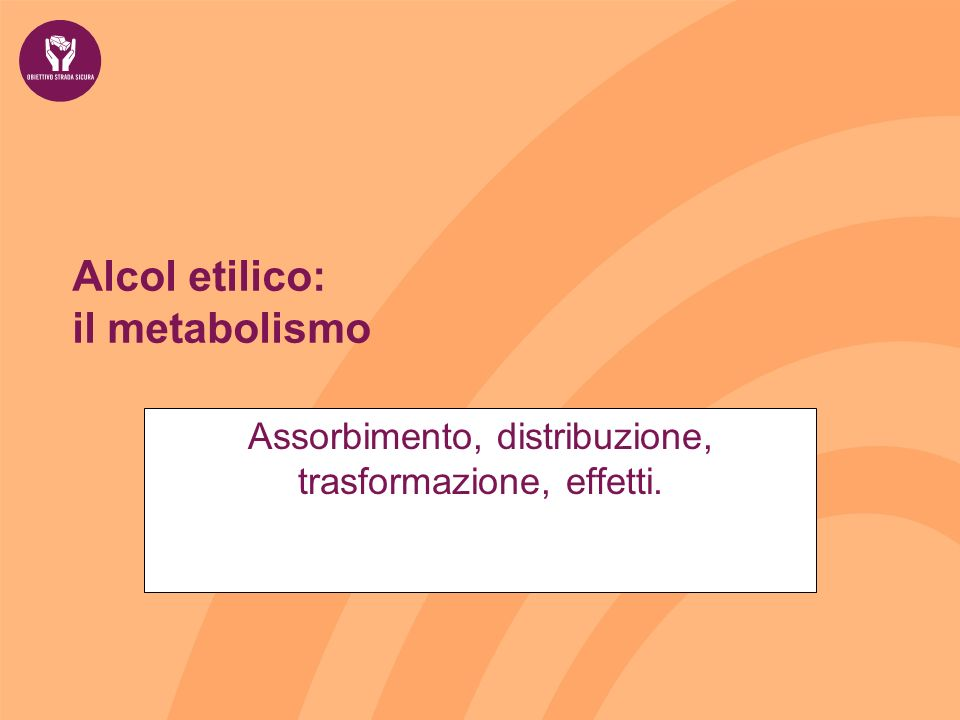 Alcol etilico: il metabolismo