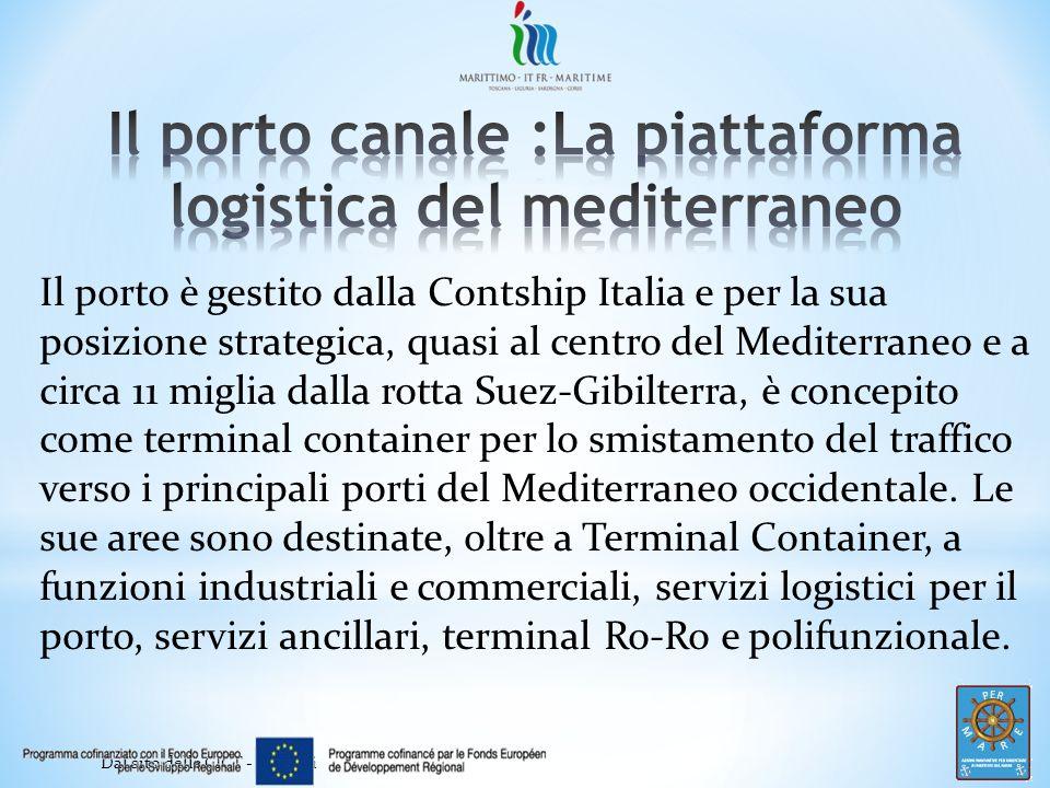Il porto canale :La piattaforma logistica del mediterraneo