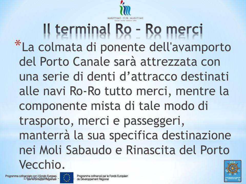 Il terminal Ro – Ro merci