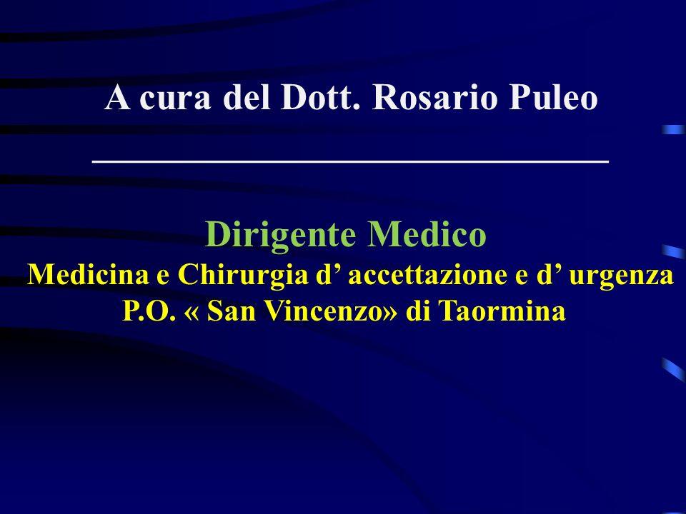 A cura del Dott. Rosario Puleo ___________________________