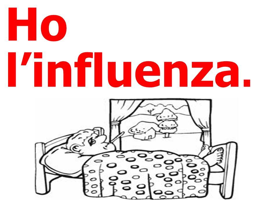 Ho l'influenza.