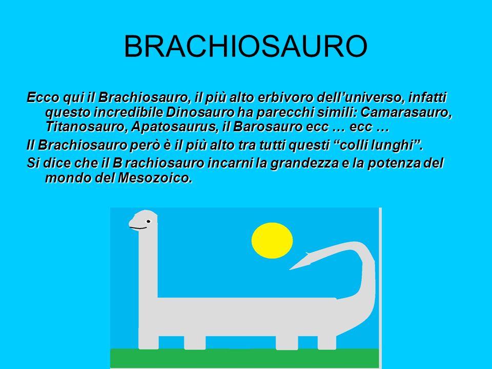 BRACHIOSAURO