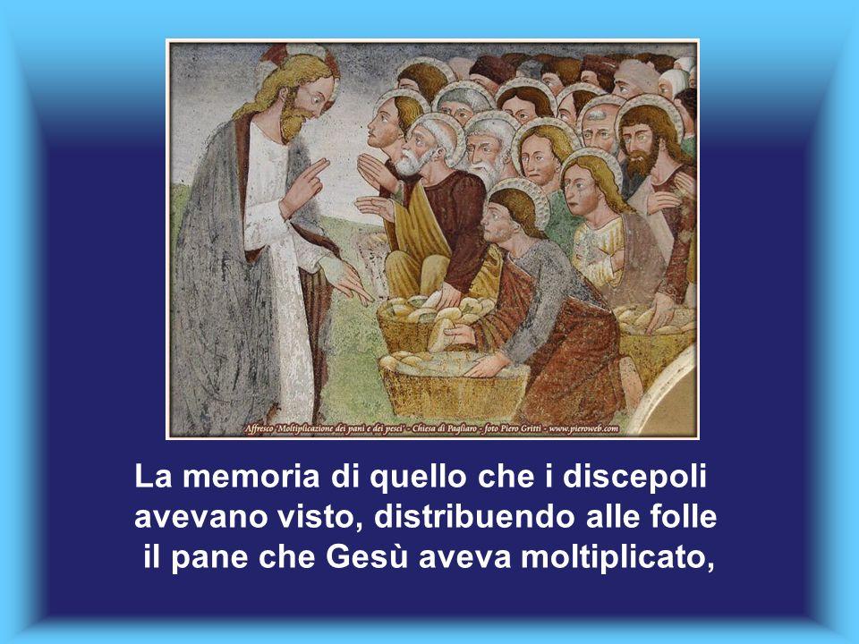 La memoria di quello che i discepoli