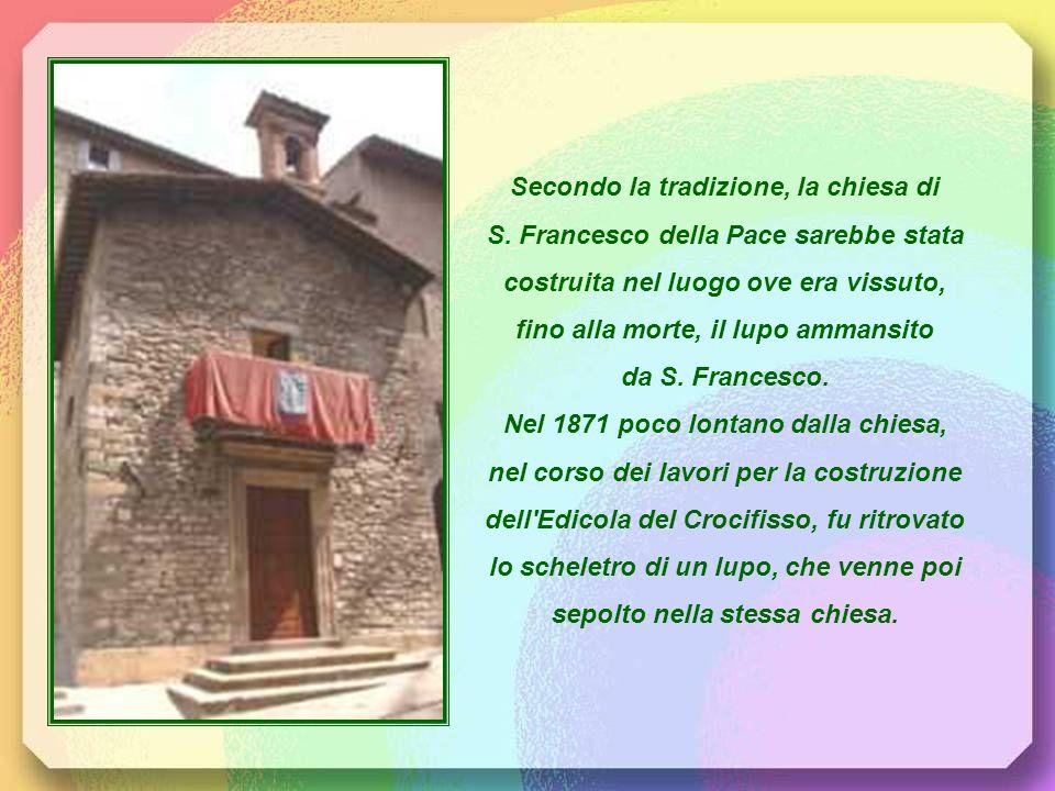 Secondo la tradizione, la chiesa di S