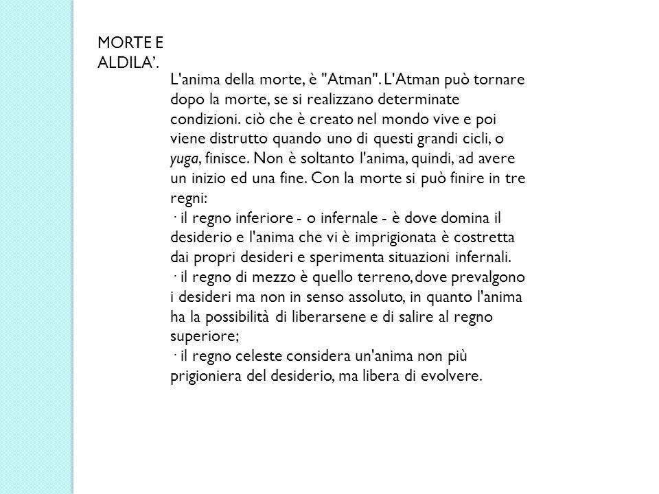 MORTE E ALDILA'.