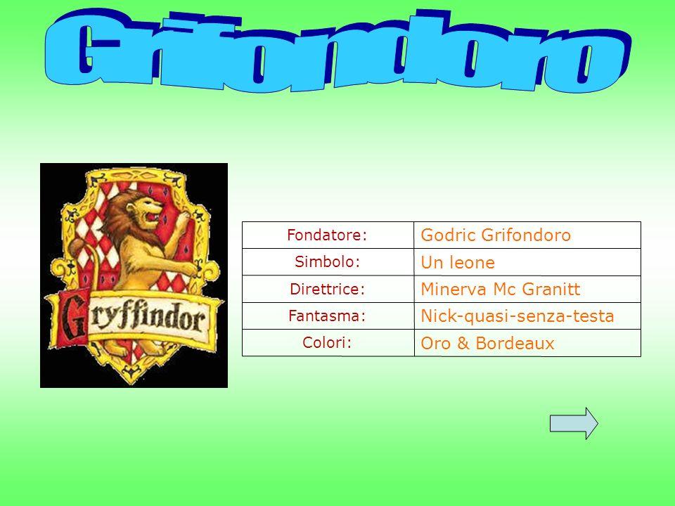 Grifondoro Godric Grifondoro Un leone Minerva Mc Granitt