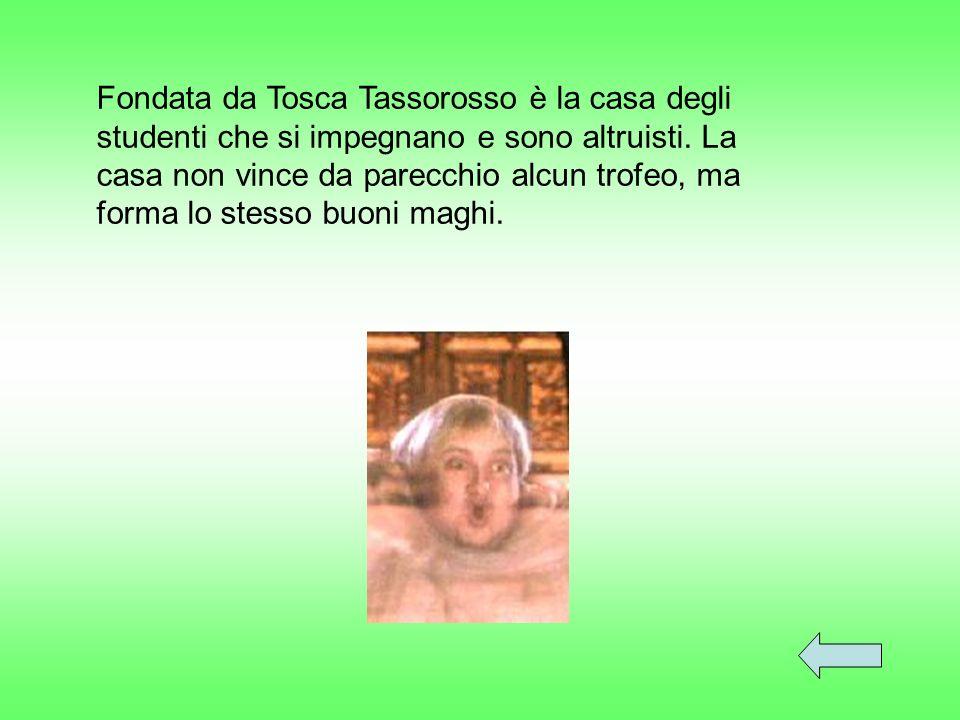 Fondata da Tosca Tassorosso è la casa degli studenti che si impegnano e sono altruisti.
