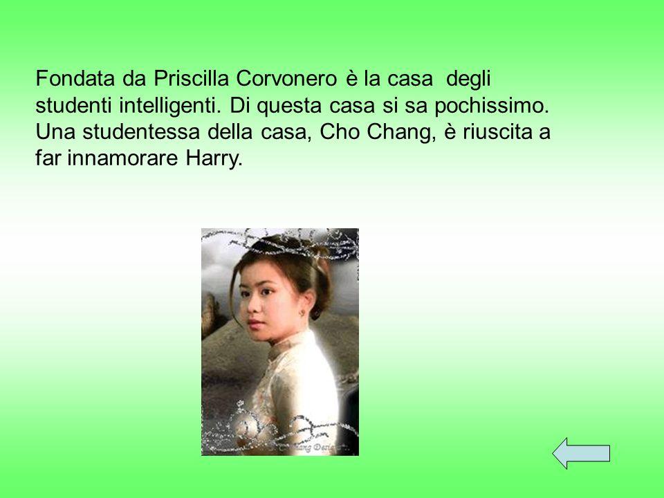Fondata da Priscilla Corvonero è la casa degli studenti intelligenti