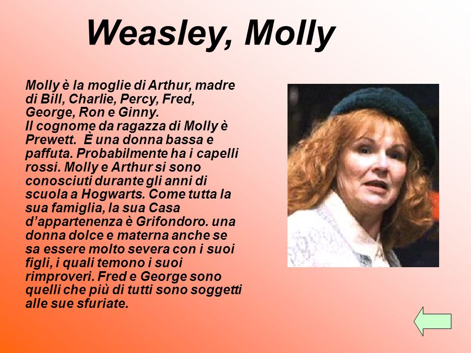 Weasley, Molly