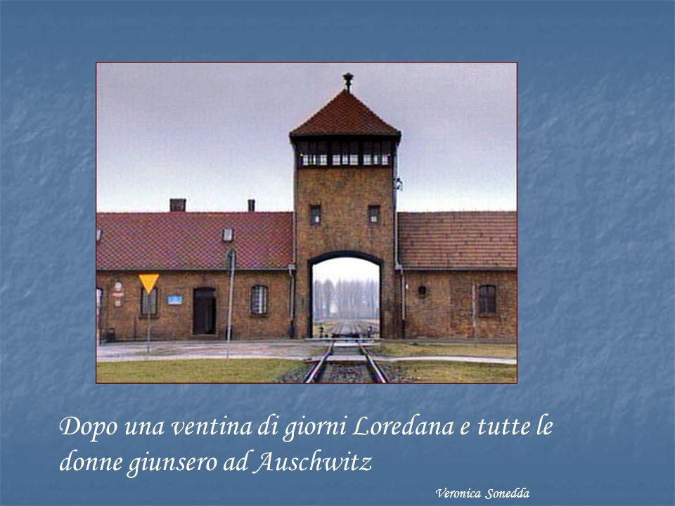 Dopo una ventina di giorni Loredana e tutte le donne giunsero ad Auschwitz