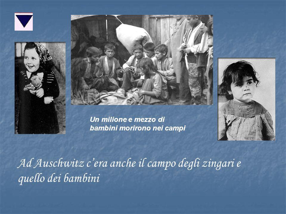 Ad Auschwitz c'era anche il campo degli zingari e quello dei bambini