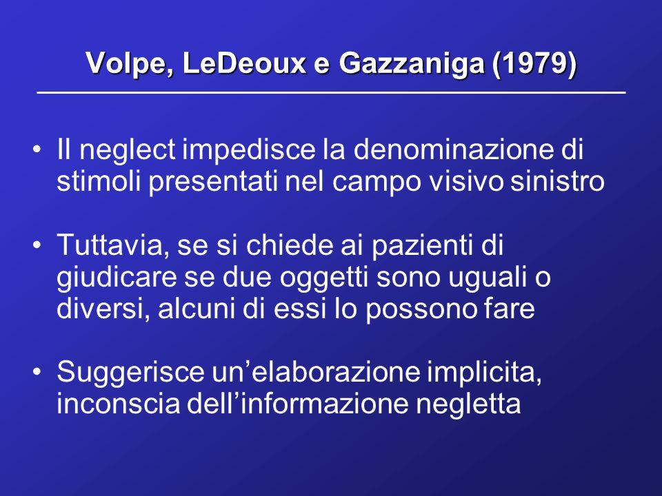 Volpe, LeDeoux e Gazzaniga (1979)
