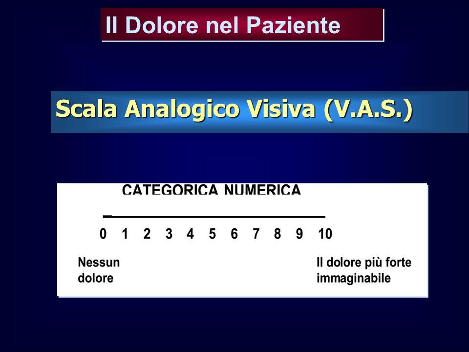 Il Dolore nel Paziente Scala Analogico Visiva (V.A.S.)
