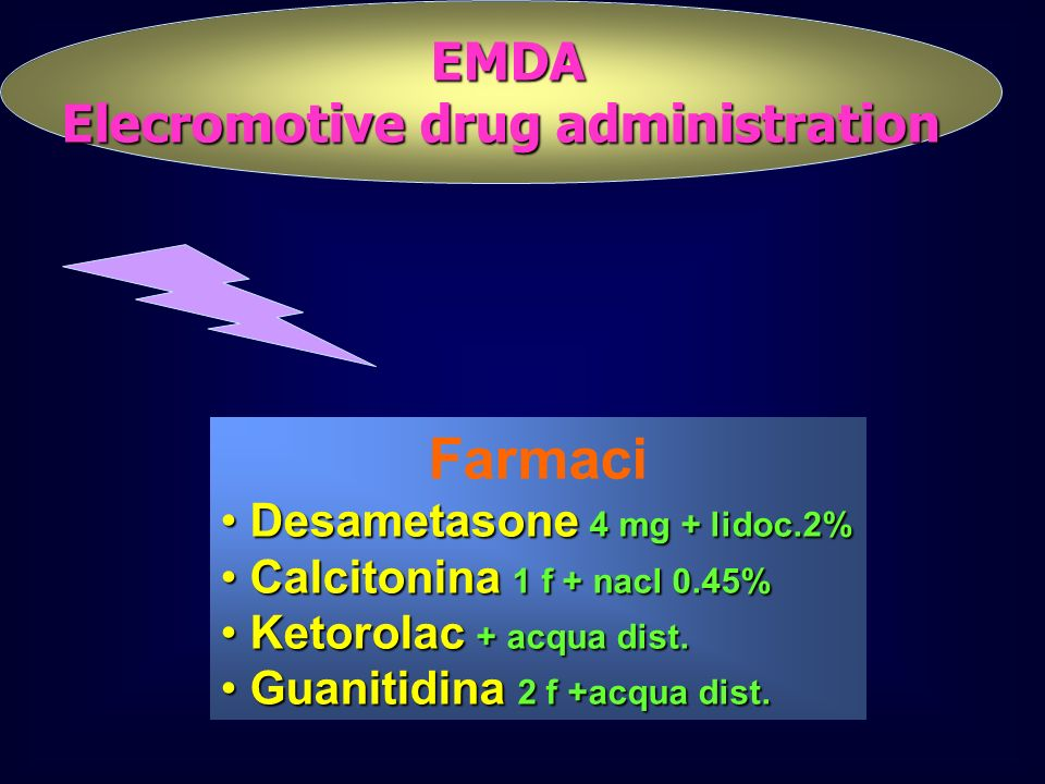 Elecromotive drug administration