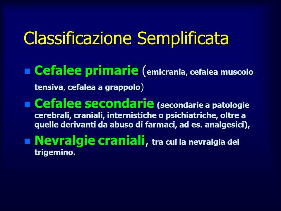 Classificazione Semplificata