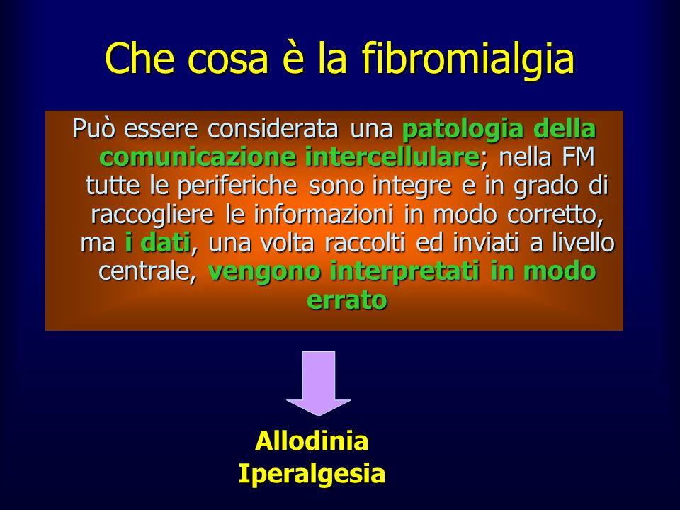 Che cosa è la fibromialgia