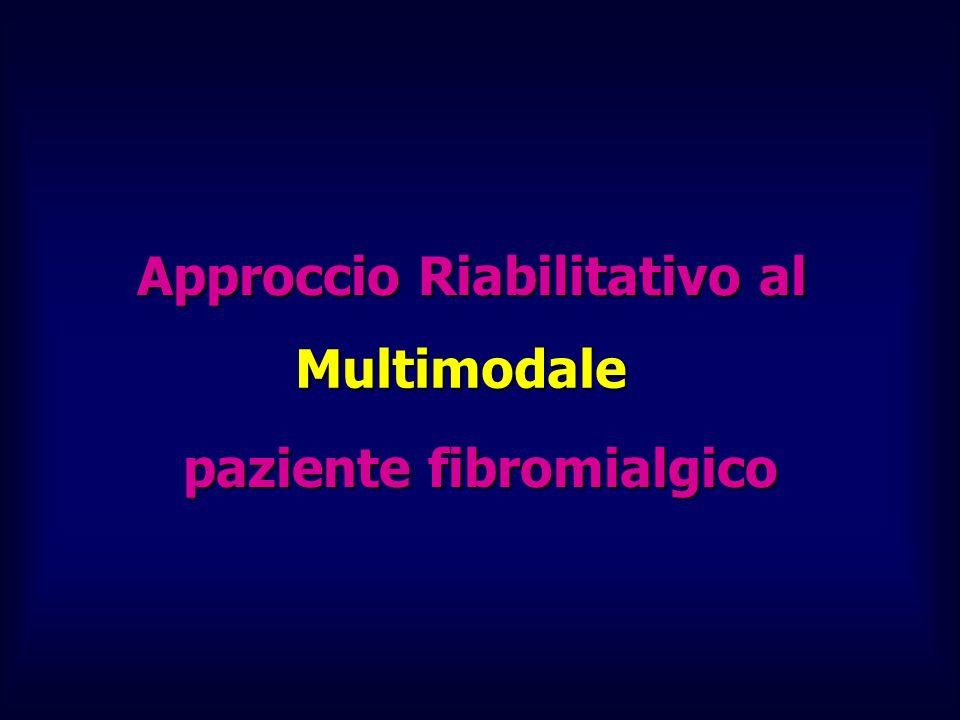 Approccio Riabilitativo al paziente fibromialgico