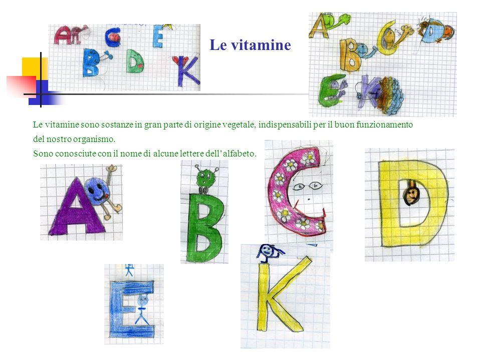 Sono conosciute con il nome di alcune lettere dell'alfabeto.