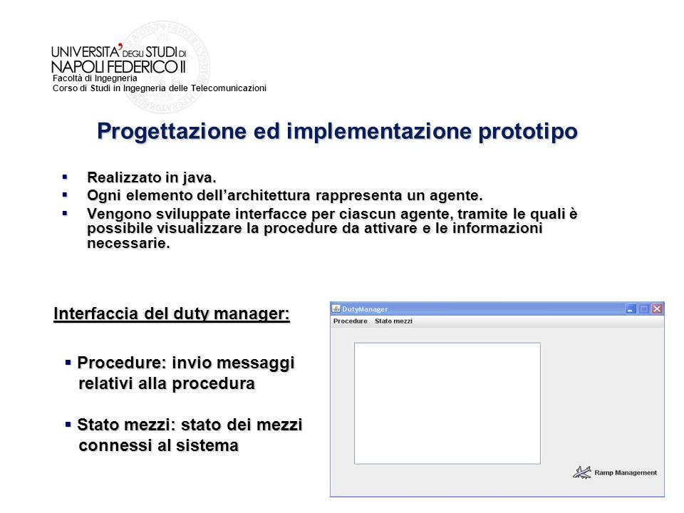 Progettazione ed implementazione prototipo