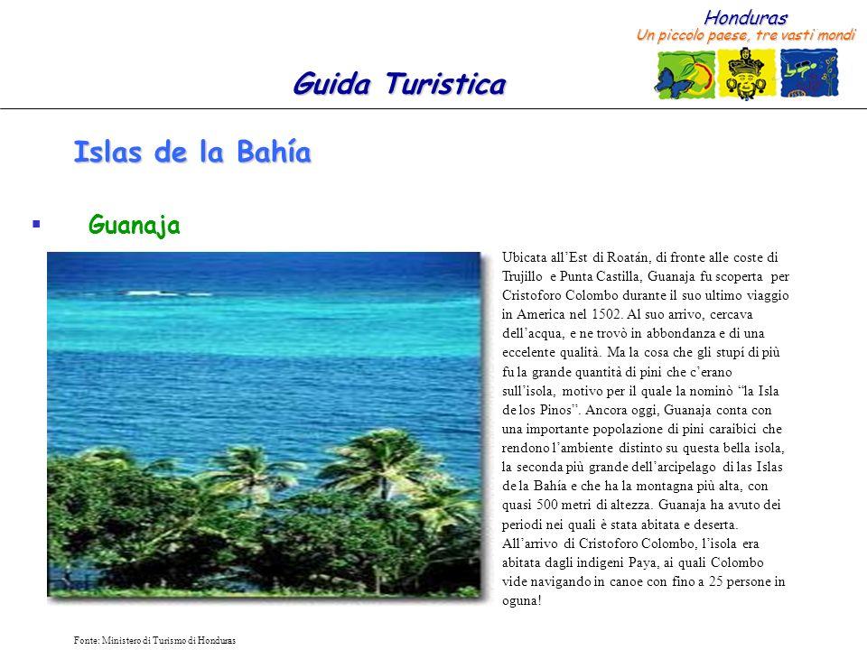 Islas de la Bahía Guanaja
