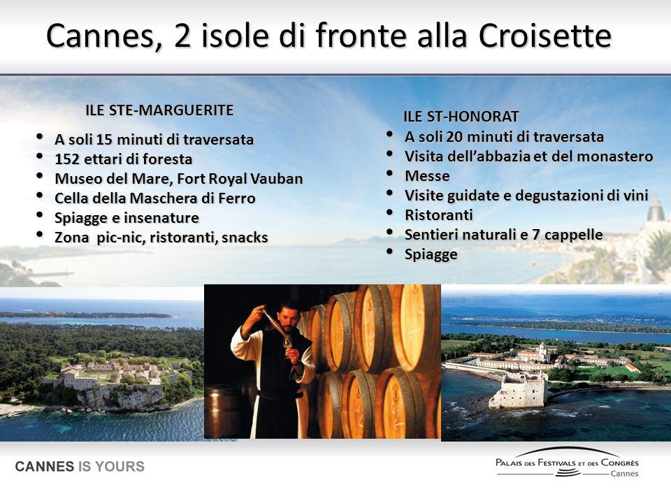 Cannes, 2 isole di fronte alla Croisette