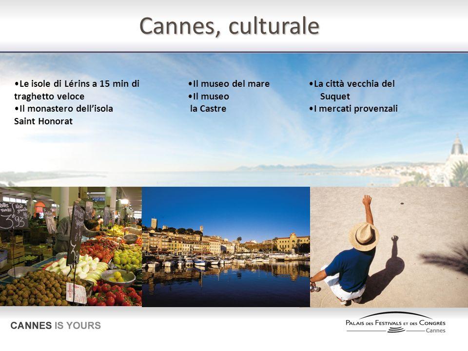 Cannes, culturale Le isole di Lérins a 15 min di traghetto veloce